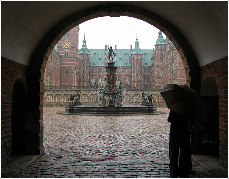 "photo ""Frederiksborg Castle"" tags: travel, architecture, landscape, Europe"