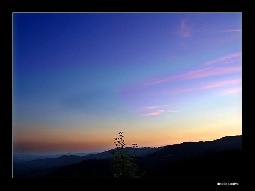 "photo ""after te sun"" tags: landscape, sunset"