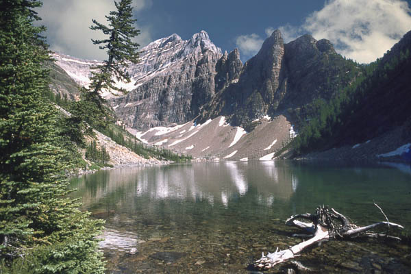 "photo ""Lake Agnes"" tags: landscape, mountains, water"
