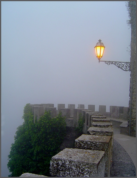 "photo ""about fog and light..."" tags: landscape, architecture, autumn"