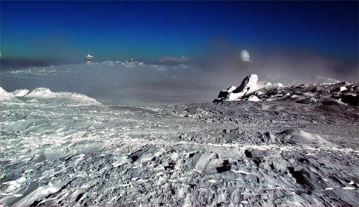 "photo ""Vitosha"" tags: landscape, winter"