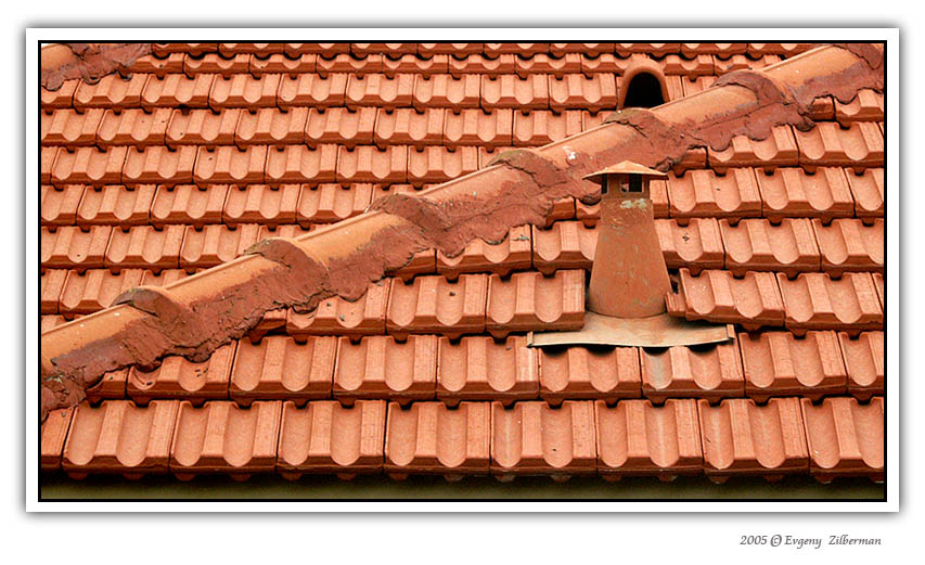 "photo ""The old roof"" tags: abstract, misc.,"