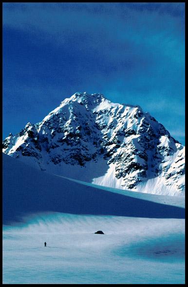 "фото ""Lyngen - Norway II"" метки: пейзаж, горы, зима"