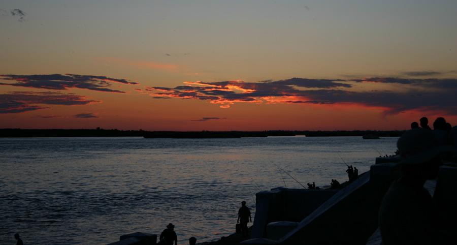 "photo ""Evening Amour"" tags: landscape, sunset"