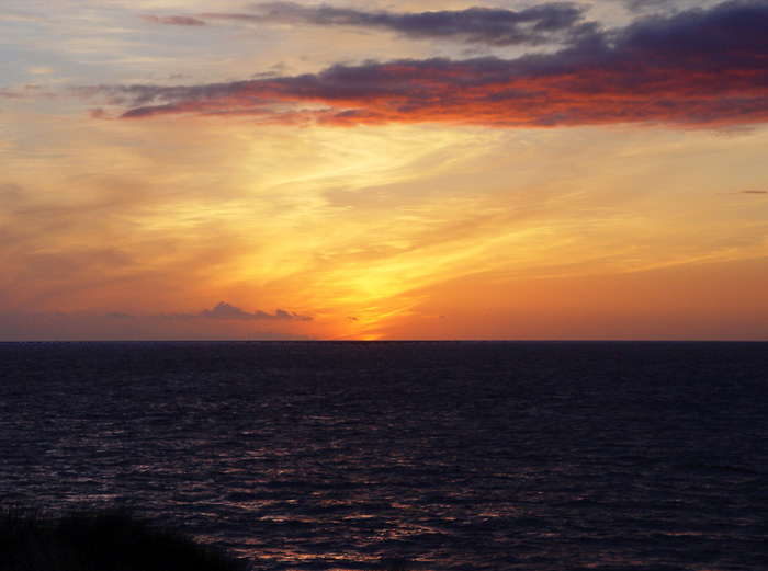 "photo ""Bay of Biscay, sunset"" tags: landscape, sunset"