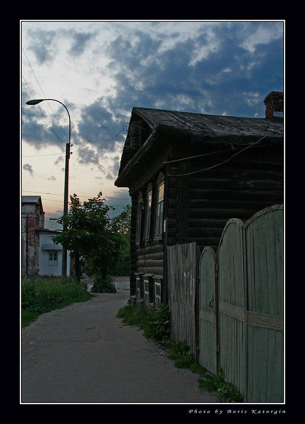 "фото ""Улочка старого Мурома"" метки: архитектура, пейзаж, закат"