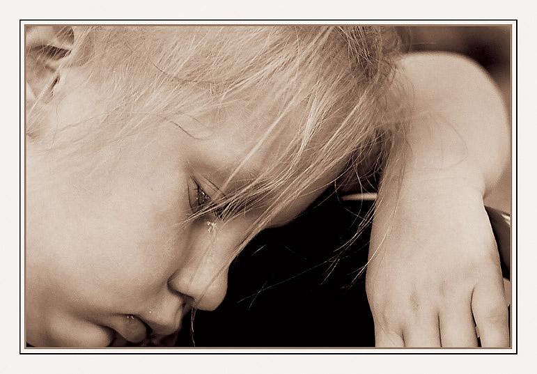 """фото """"Обида"""" метки: портрет, черно-белые, дети"""