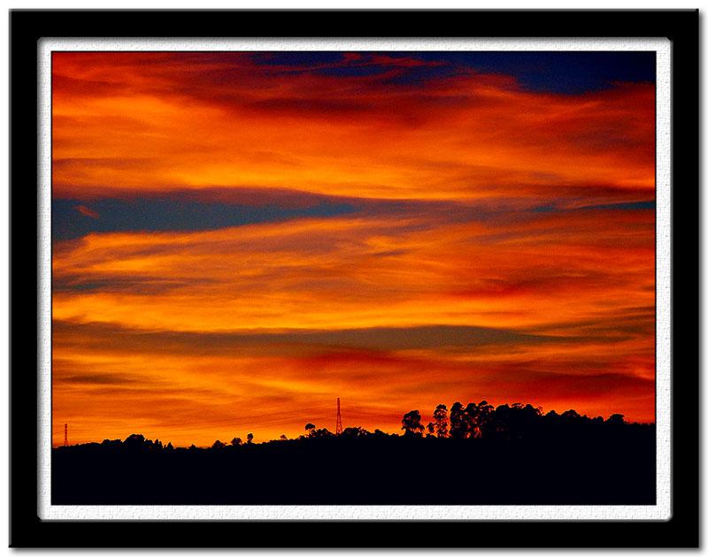 "фото ""Alvorecer da minha janela II"" метки: пейзаж, путешествия, Южная Америка, закат"