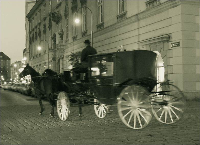 "photo ""Phantoms of Old Vienna."" tags: travel, misc., Europe"