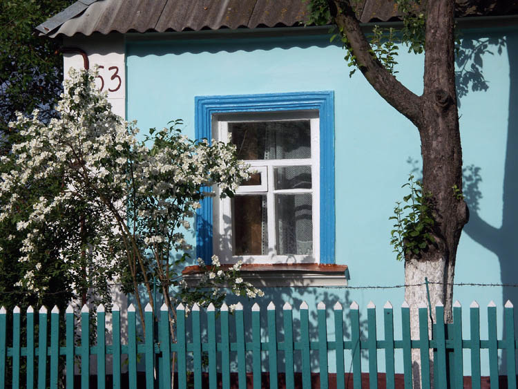 "photo ""Window."" tags: architecture, landscape, summer"