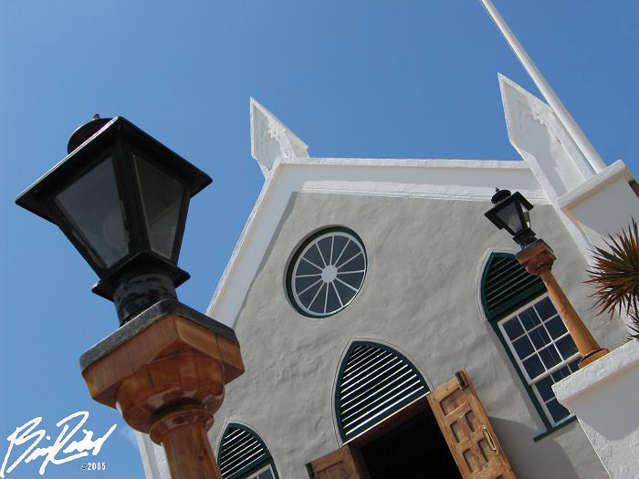 "photo ""Bermuda Church"" tags: travel, North America"