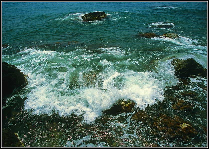 """фото """"Встречая волну..."""" метки: пейзаж, вода"""
