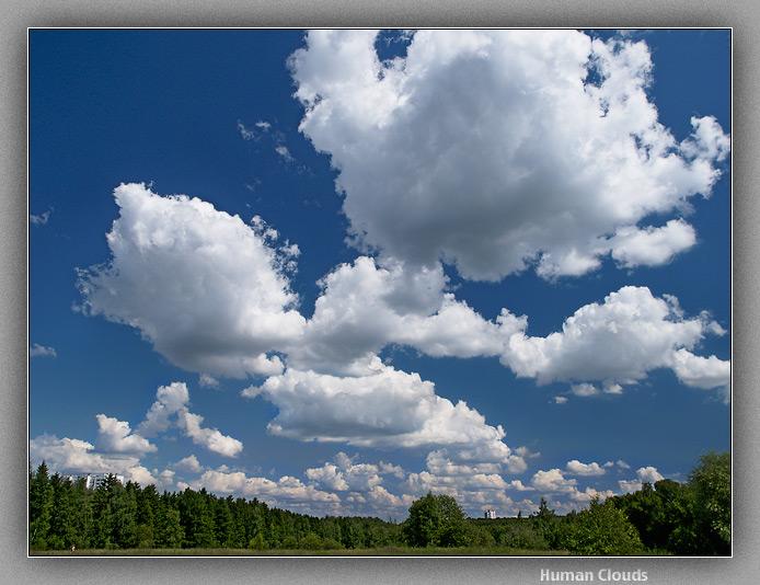 "photo ""Human Clouds"" tags: landscape, clouds"