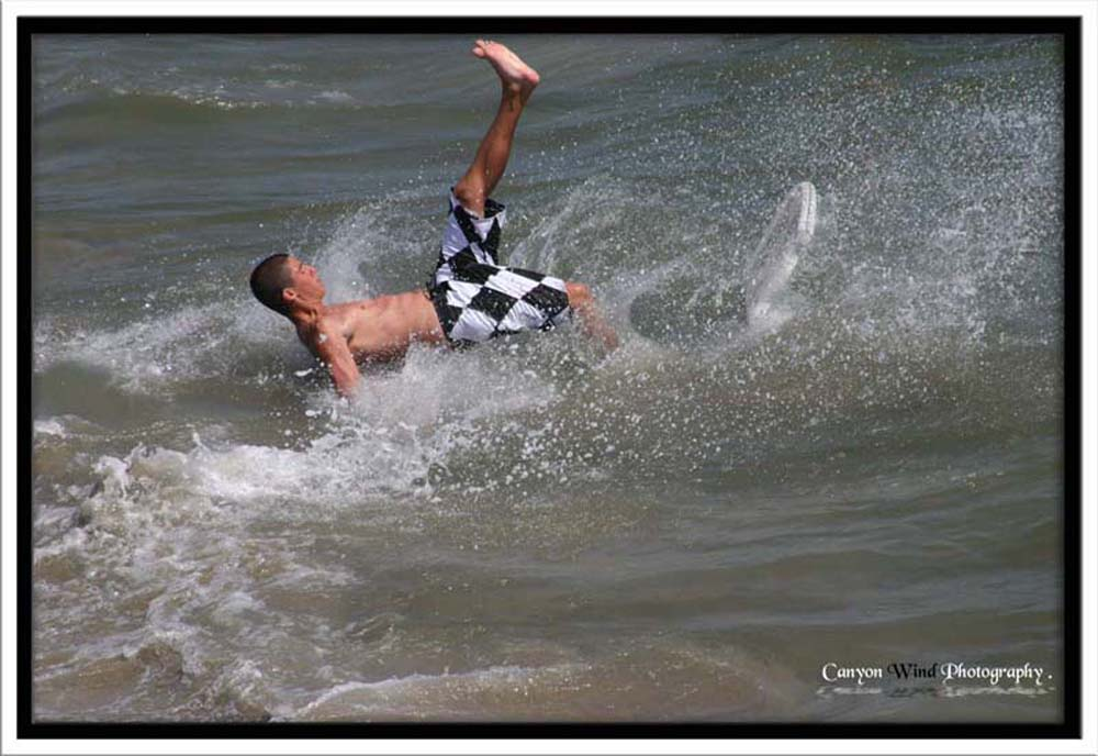 """photo """""""" Can't walk on water """"!"""" tags: sport, travel, North America"""