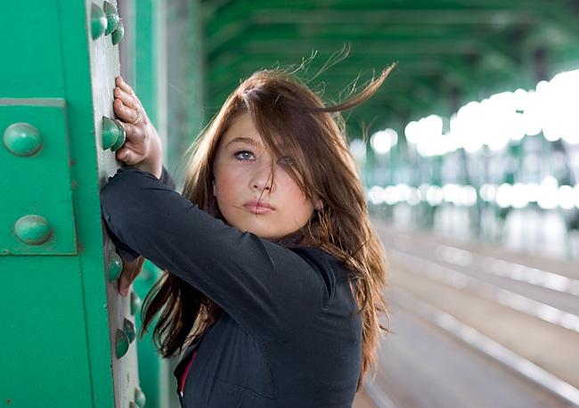 "photo ""Ania"" tags: portrait, woman"