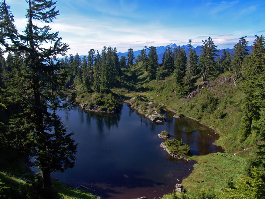 "фото ""Mountain eyes"" метки: пейзаж, вода, горы"