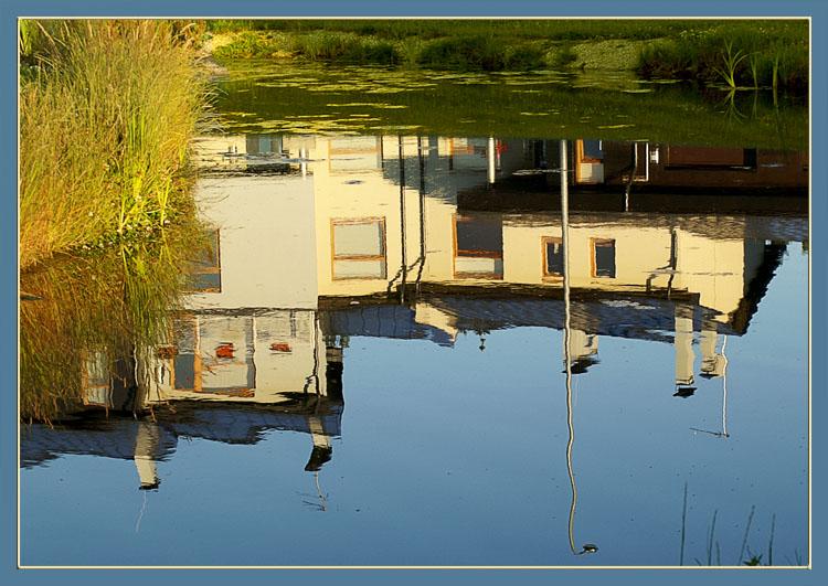 """фото """"Водная недвижимость"""" метки: пейзаж, вода"""