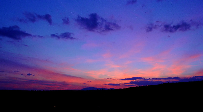"photo ""Голубой закат/Blue sunset/"" tags: landscape, sunset"