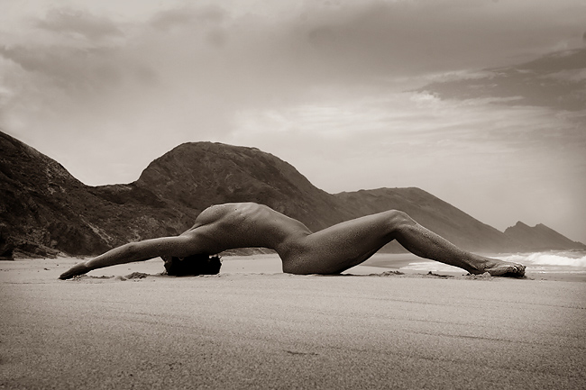 "photo ""Mother Nature"" tags: nude, black&white,"