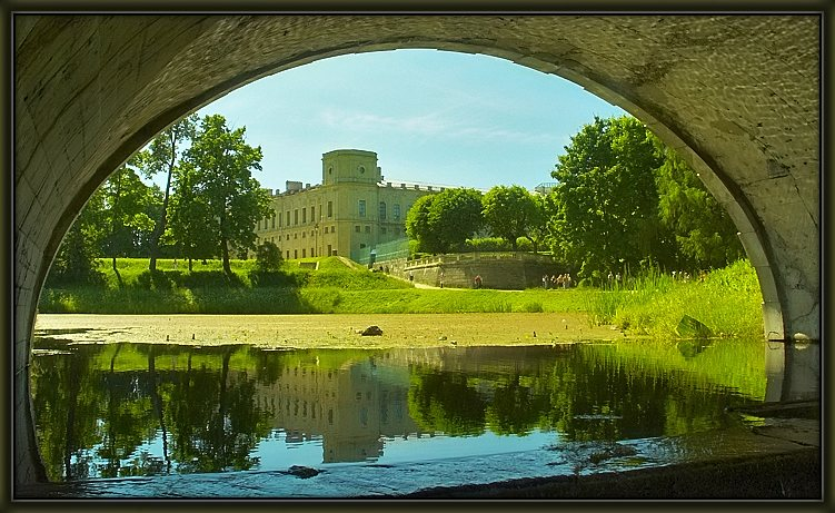 "photo ""In Gatchina park"" tags: landscape, travel, Europe, summer"