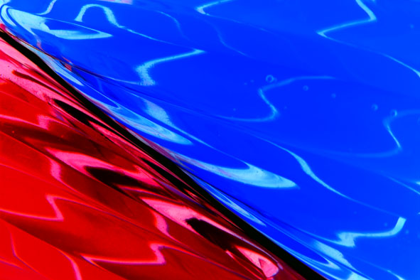 "photo ""RED AND BLUE 2"" tags: abstract, macro and close-up,"