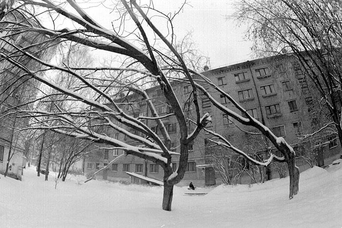 "photo ""winter"" tags: black&white, genre,"