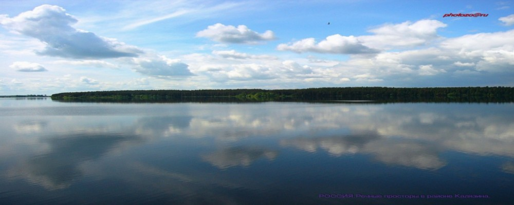 "photo ""The dark blue sky of Russia"" tags: nature, landscape, water"