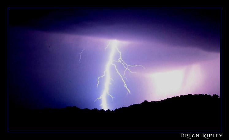 "фото ""Lightning Strike"" метки: природа,"