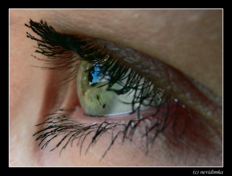 "фото ""the sky in her eyes"" метки: макро и крупный план, жанр,"