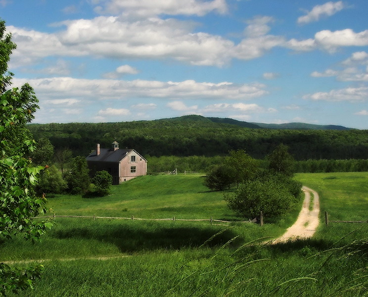 "photo ""Rural America"" tags: landscape, clouds, summer"