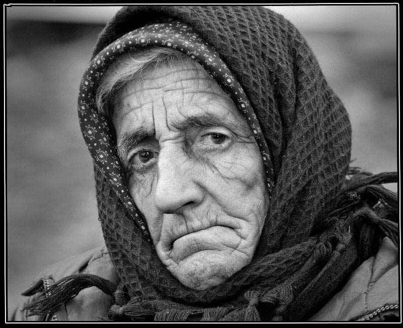 "photo ""A portrait"" tags: black&white, PF life,"