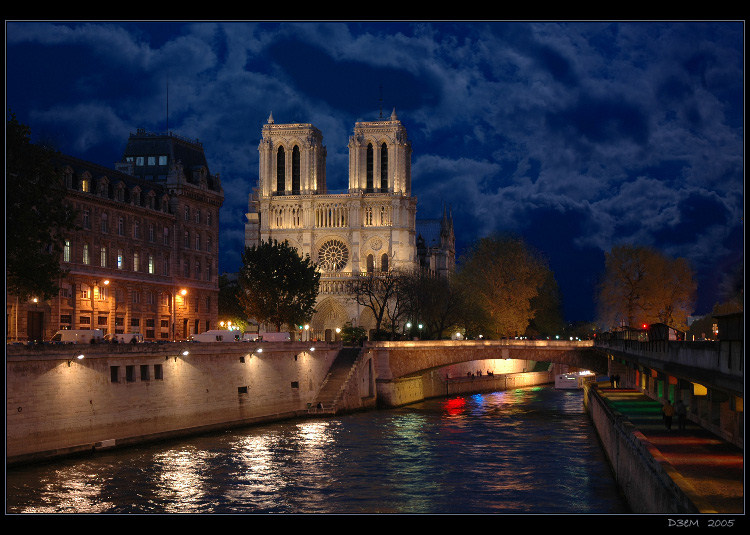 "photo ""*** NotreDame***"" tags: architecture, landscape,"