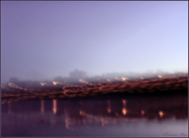 "photo ""Flight"" tags: landscape, abstract, night"