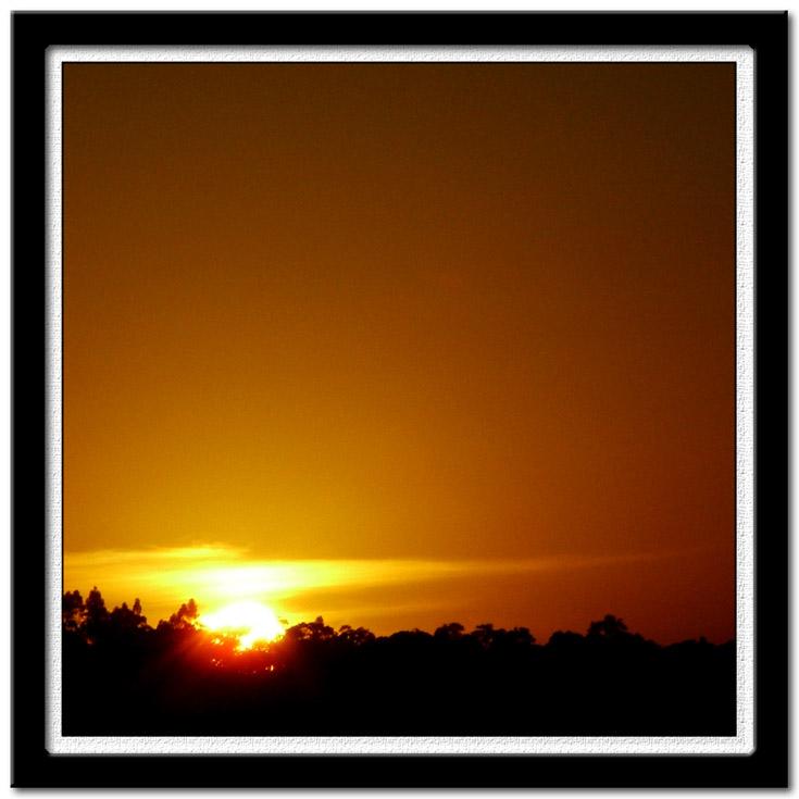 "photo ""Alvorecer da minha janela III"" tags: landscape, travel, South America, sunset"