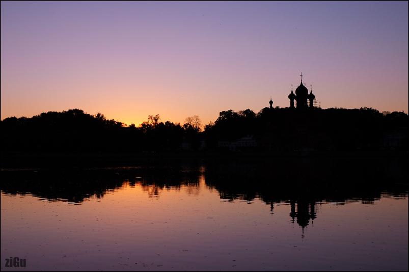 """фото """"кончился день.."""" метки: архитектура, пейзаж, закат"""