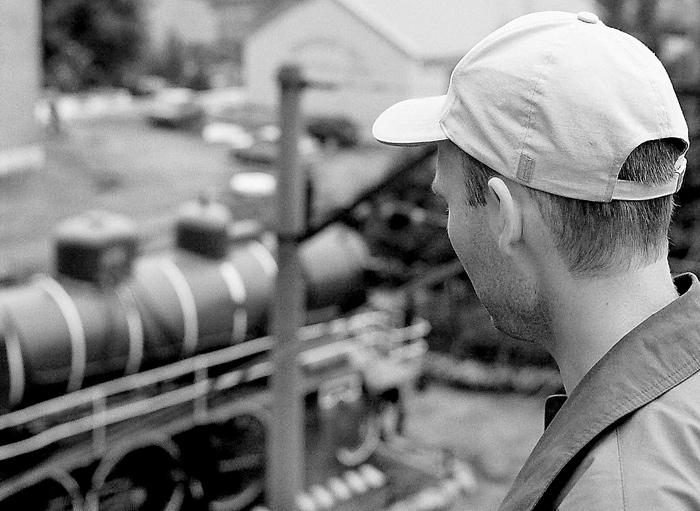 "photo ""The dreamer"" tags: black&white, genre,"