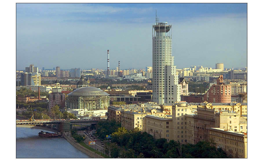 "photo ""Sketches of Moscow N5"" tags: architecture, landscape,"