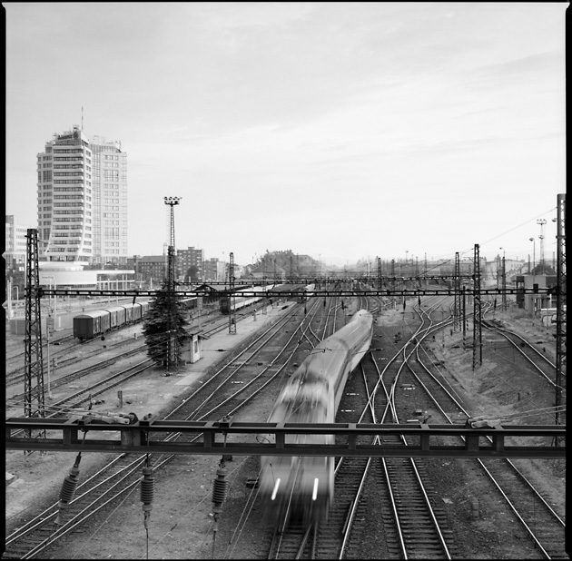 "photo ""Railway"" tags: black&white,"