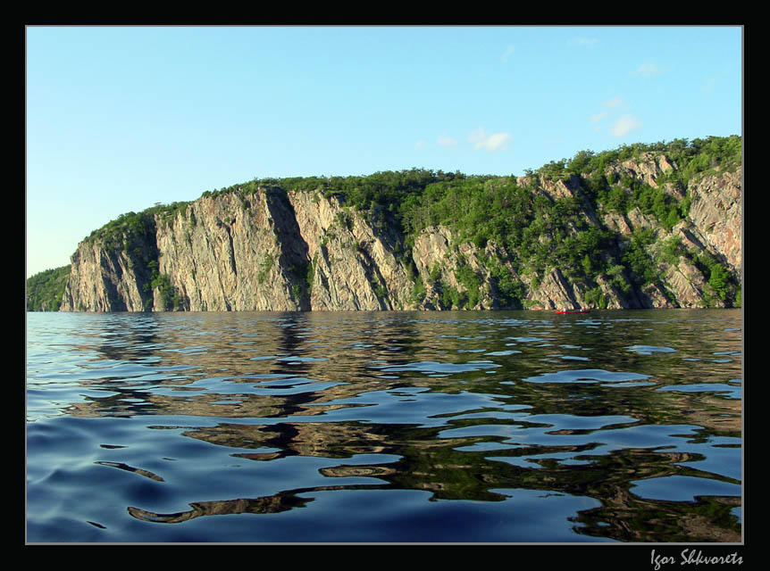 "photo ""Bon Echo"" tags: landscape, travel, North America, water"