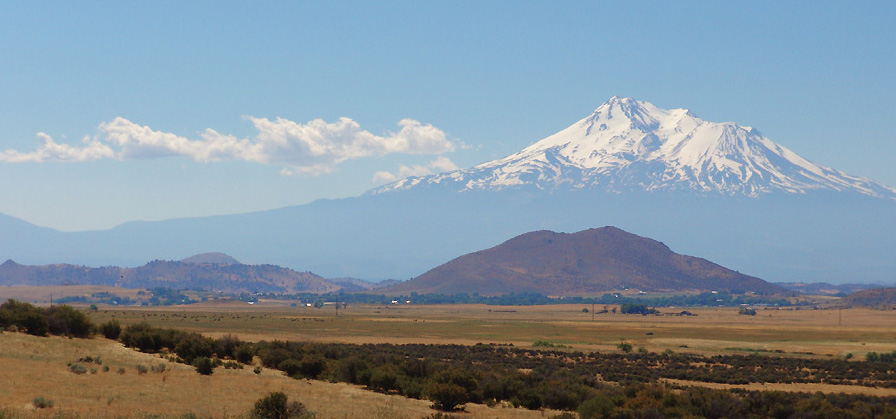 "photo ""Mt.  Shasta"" tags: nature, landscape, mountains"
