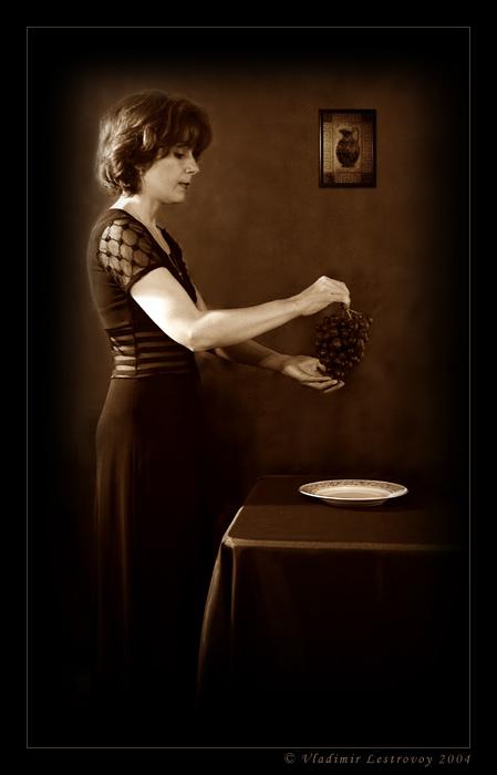 """фото """"Черный виноград"""" метки: портрет, женщина"""