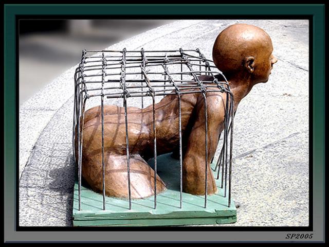 """photo """"Captivity"""" tags: misc., travel,"""