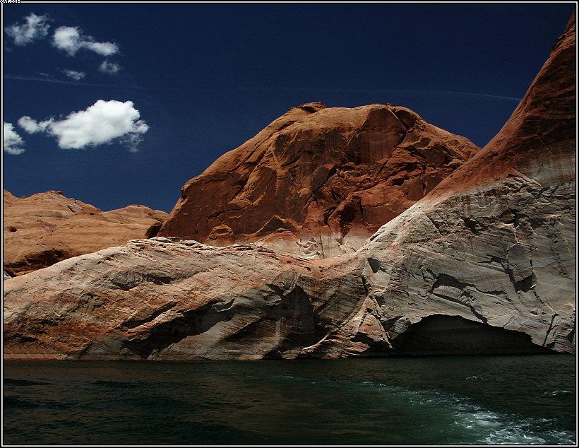 "photo ""Lake Powell, Arizona (2)"" tags: landscape, mountains"