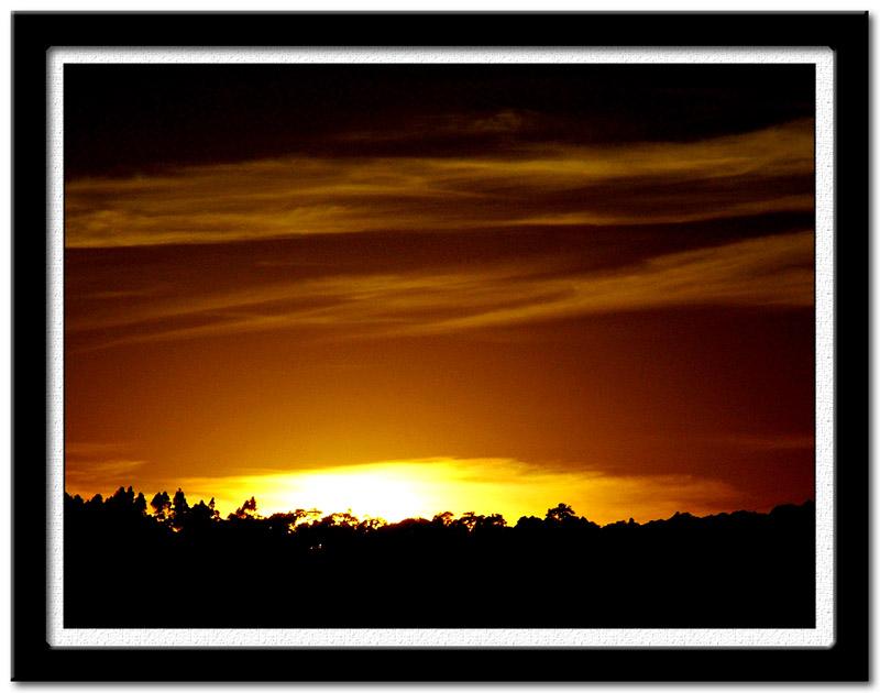 """фото """"Alvorecer da minha janela IV"""" метки: пейзаж, путешествия, Южная Америка, закат"""