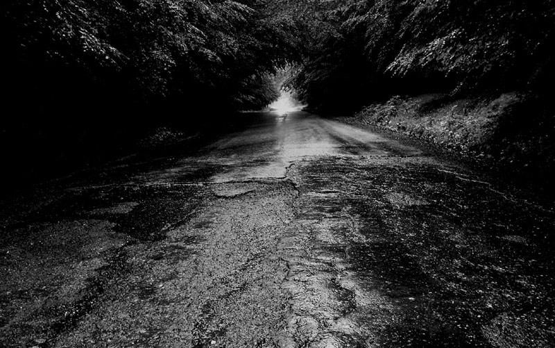 """фото """"Road..."""" метки: черно-белые,"""