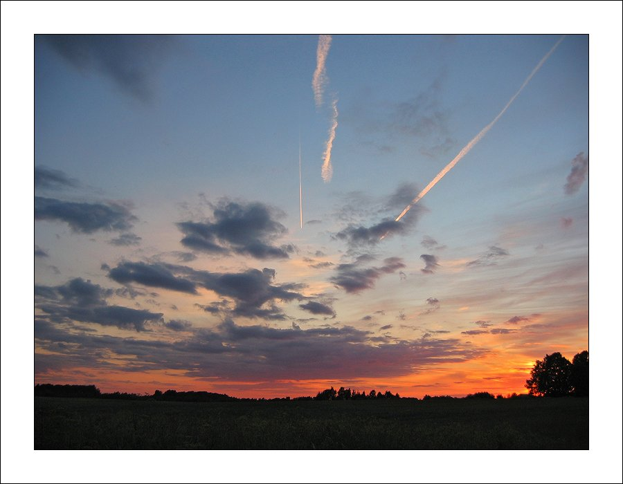 "photo ""Evening of falling stars."" tags: landscape, travel, Europe, sunset"