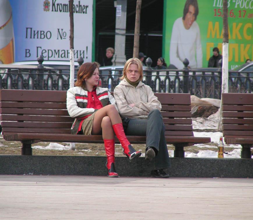 "photo ""on The Tsvetnoy Bulvar"" tags: landscape, spring"