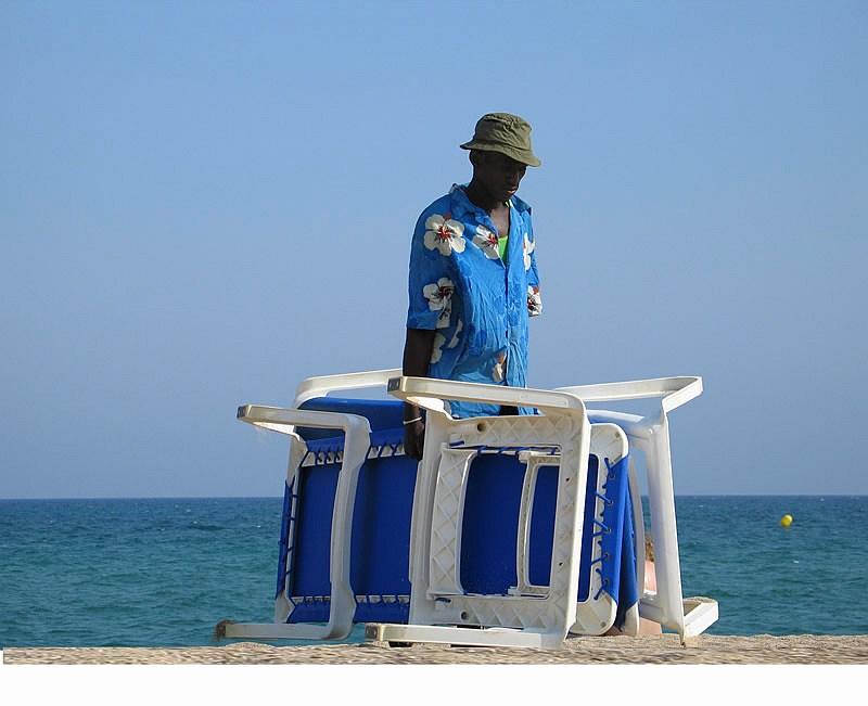 "photo ""Beachboy"" tags: portrait, landscape, man, water"