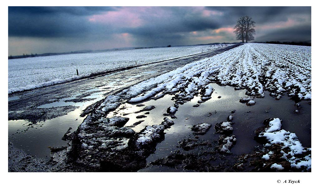 "photo ""Snowy land"" tags: landscape, winter"