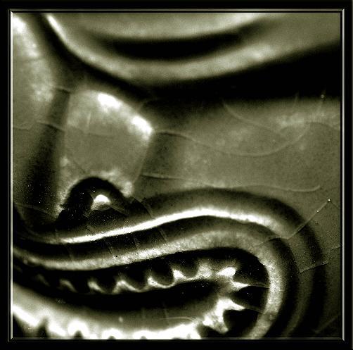 """фото """"Tikki Man"""" метки: абстракция, черно-белые,"""